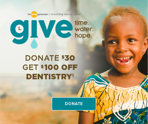 Donate $30, Get $100 Off Dentistry - Aurora Dentistry